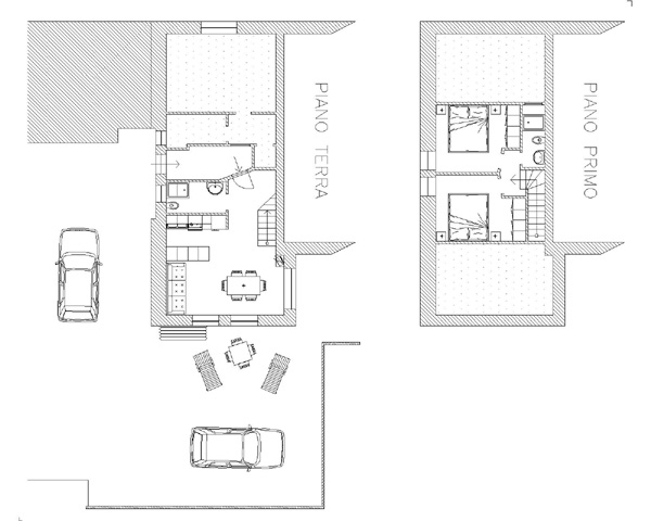 Appartamenti minia livigno for Monolocale dwg